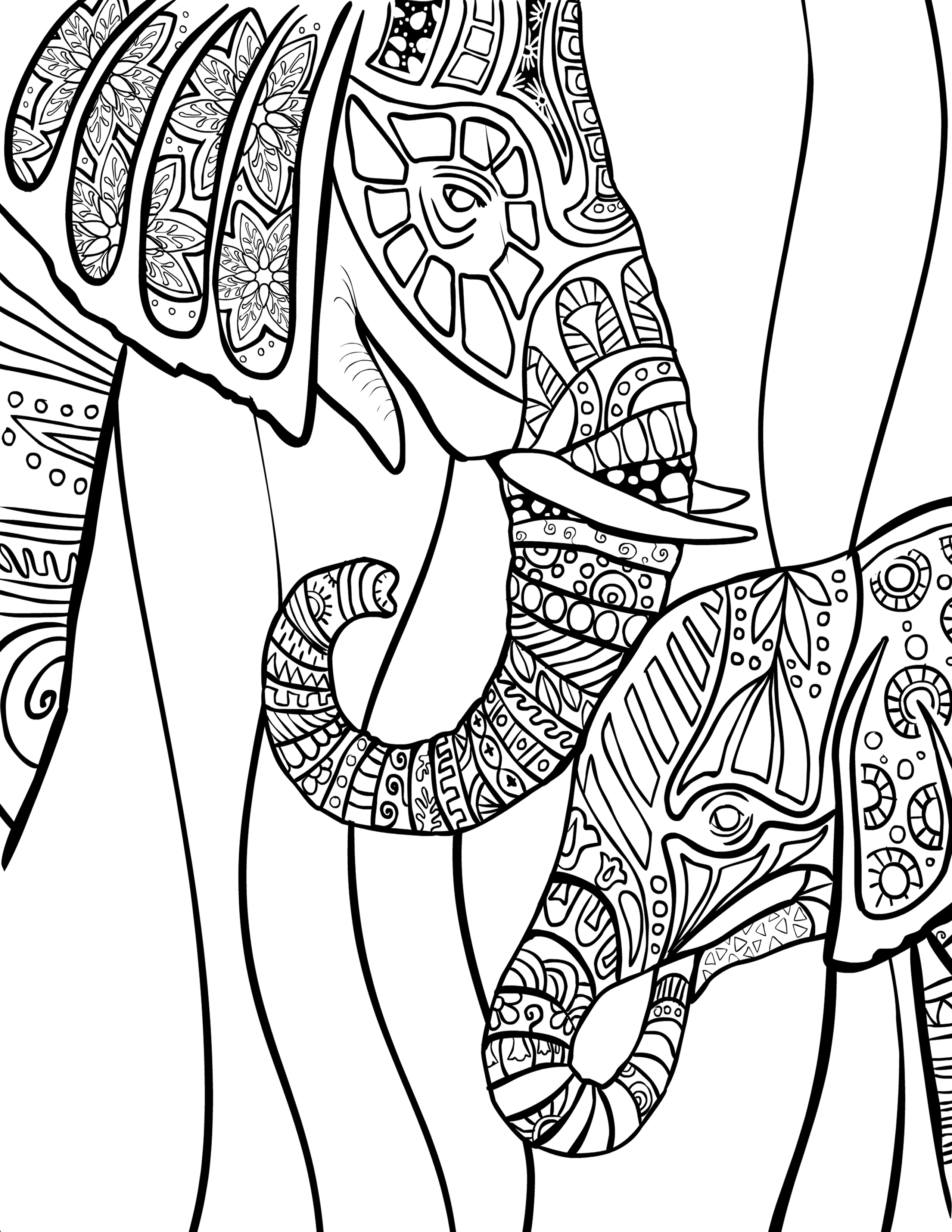 FREE ADULT COLORING PAGES On Pinterest