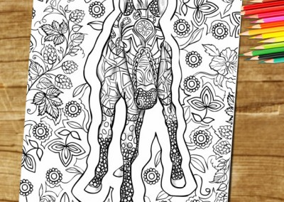 Adult Coloring Book Page – Coloring For Grownups!