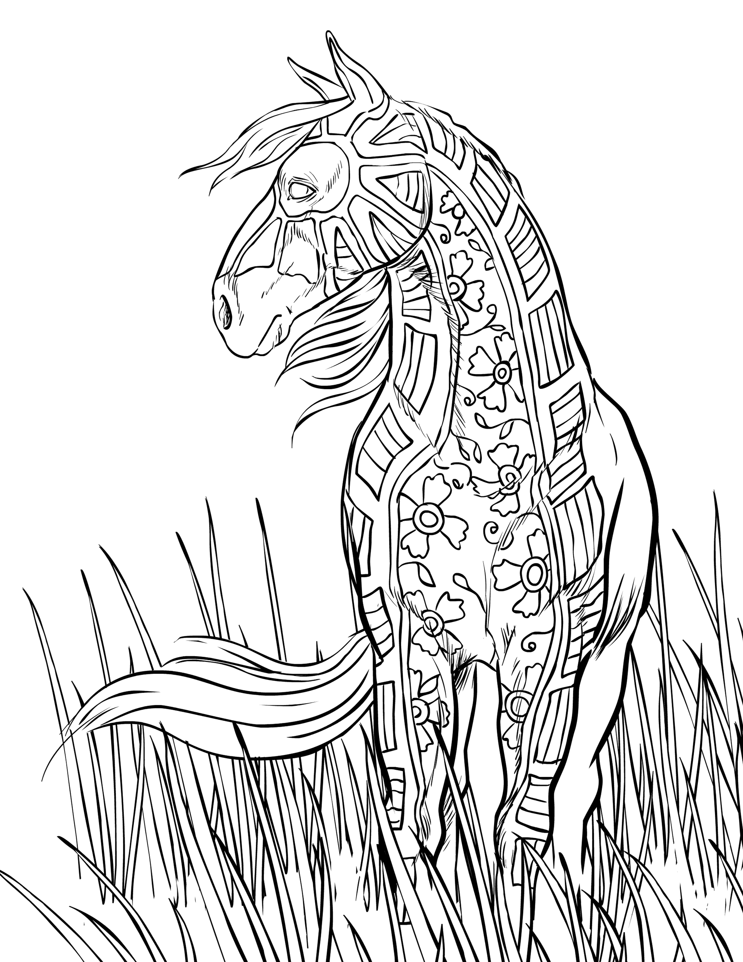 free horse coloring pages selah works coloring books