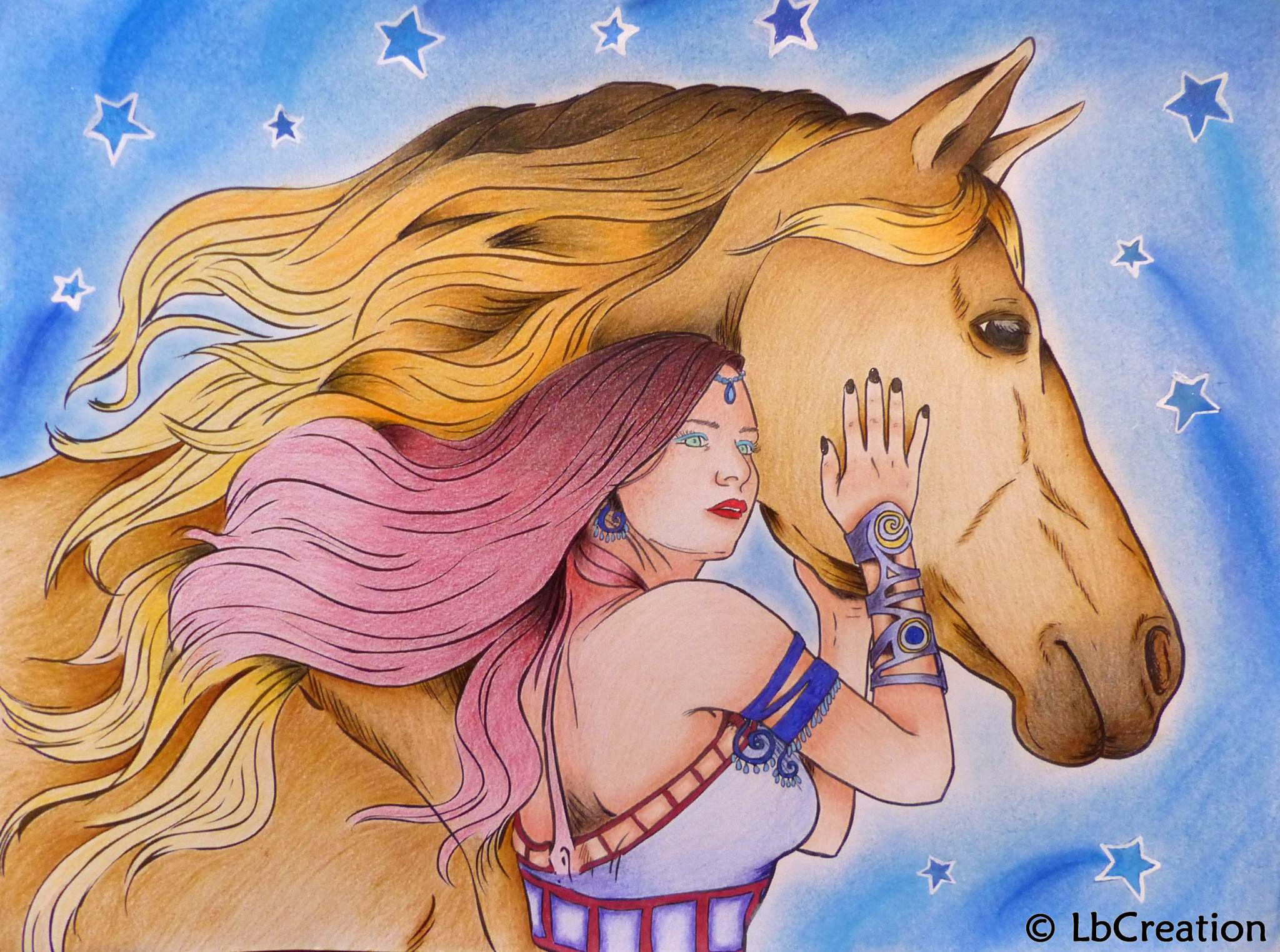 Lucie Boileau amazing horses girl finished