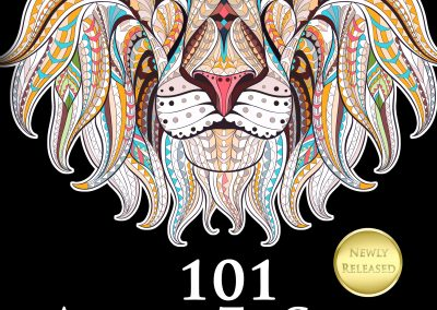 101 Animals To Color : Adult Coloring Book