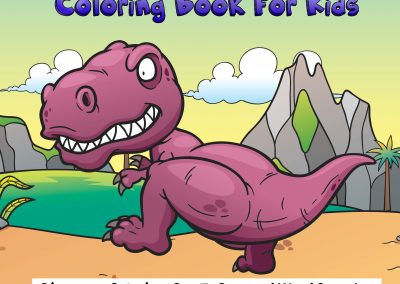 Dinosaur Coloring Fun For Kids