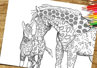 Coloring Page For Adults To Print and Download